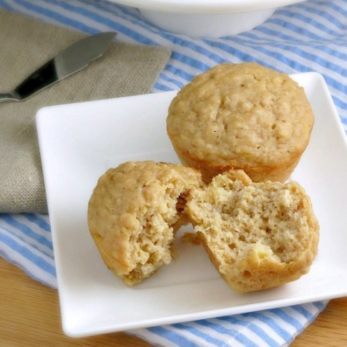 maca oatmeal muffins