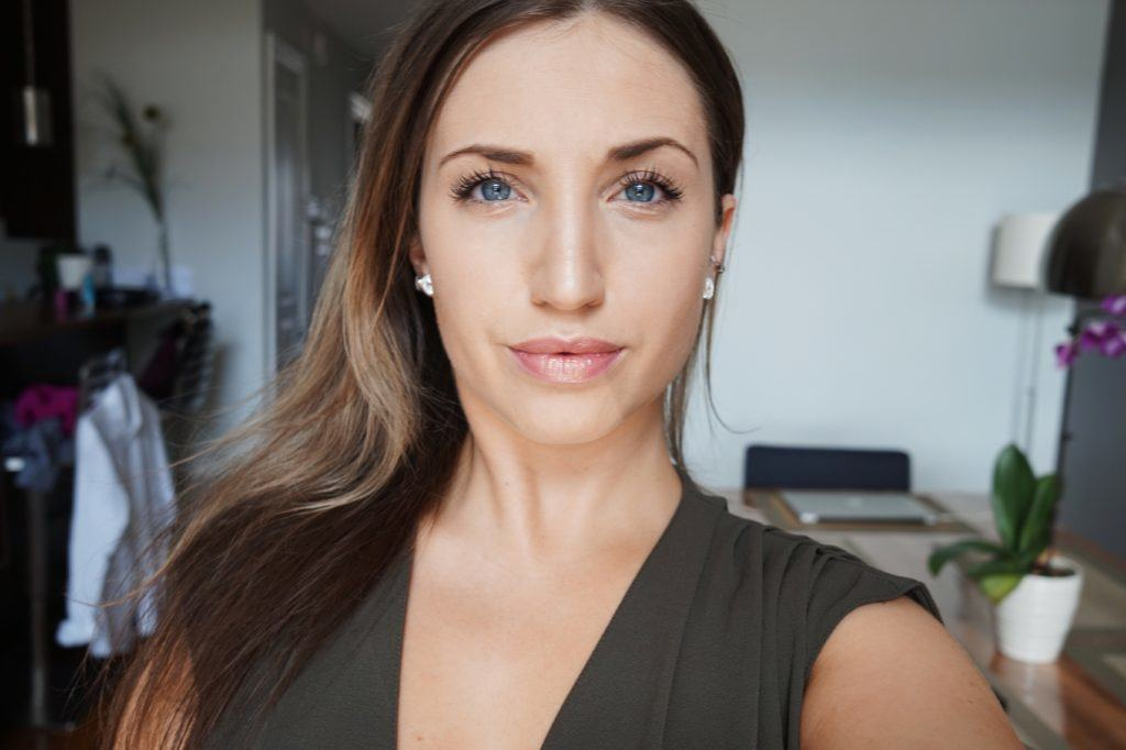 Andrea Ewanishan, lifestyle blogger from Calgary, explains color correction techniques that are used to create a flawless complexion.