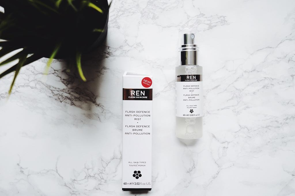 Calgary based lifestyle blog shares her fav REN Flash Defence Anti-Pollution Mist. Perfect for fall/winter. Hydration & protection all in one!