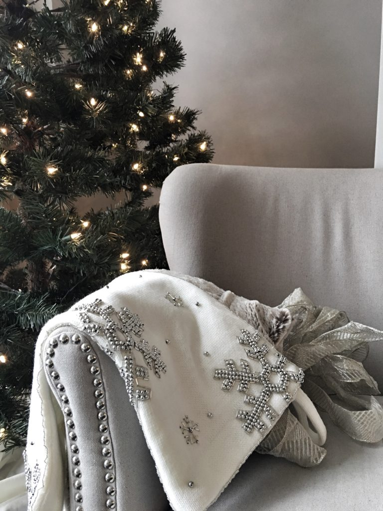 Calgary based blog shares her holiday decor. Everything Christmas decor is up on the blog today including photos from her home!