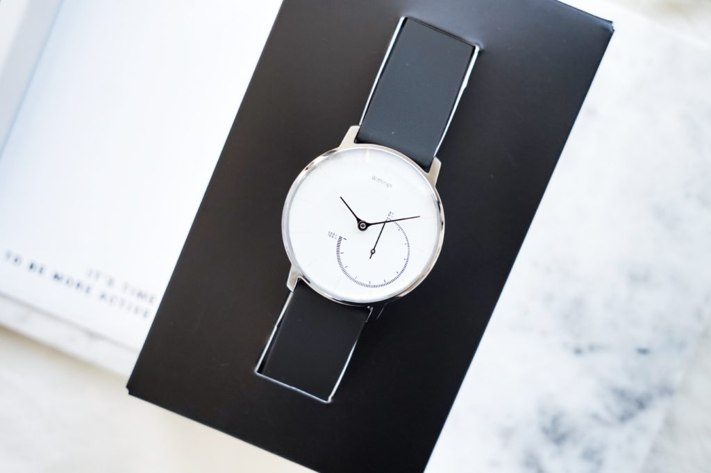 Drea has found the new, stylish gadget for hitting your health and weight loss goals. The Withings Activité watch is a must have this season.