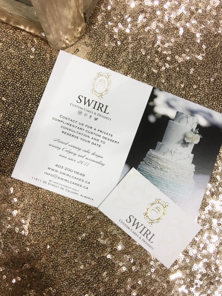 Drea has found her future wedding cake company. SWIRL Custom Cakes & Desserts. It's design meets cake. Incredible gold & marble combos!!