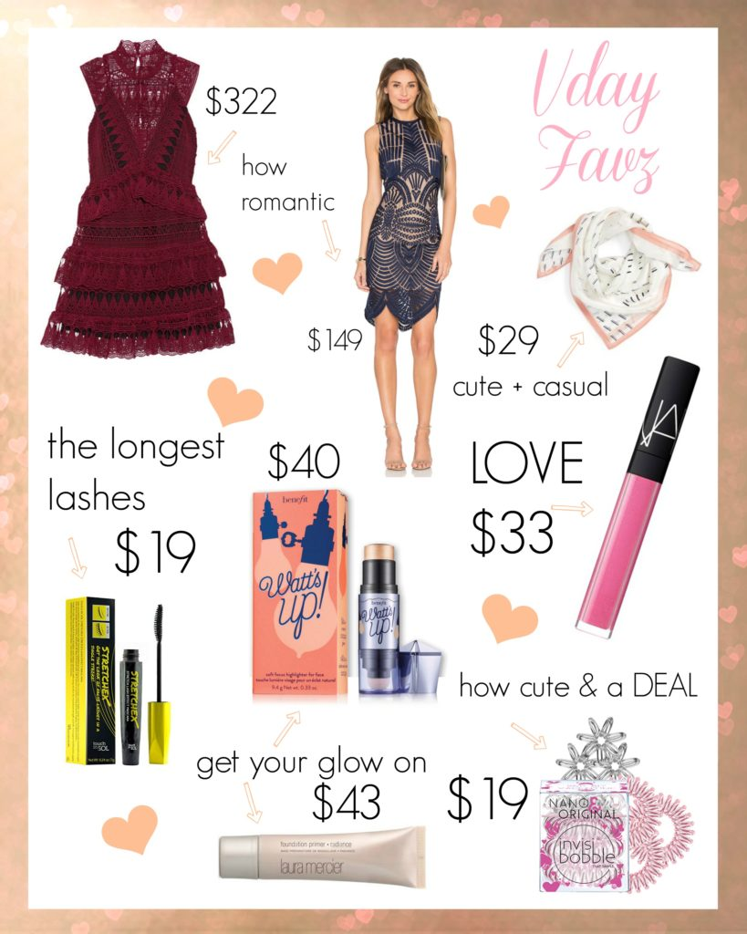 Drea Marie shares her VDAY FAVOURITES! Find out what she loves for Valentine's Day beauty and style ideas this year.