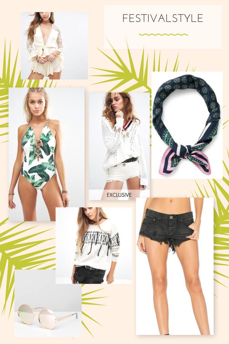 Drea Marie shares her go to festival style must haves for this music festival 2017 season.