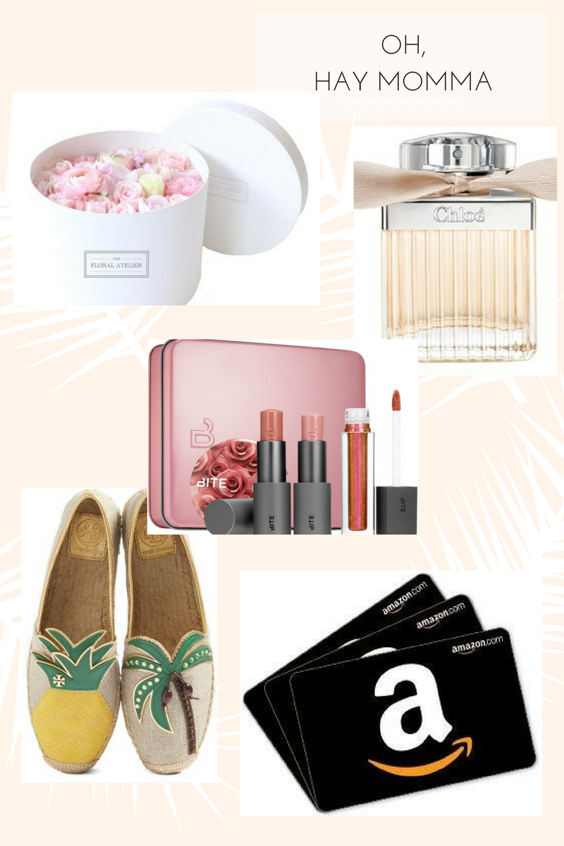 Drea Marie shares the BEST last minute momma's day gift guide. From shoes to perfume and beauty, we've got everything mom would want.