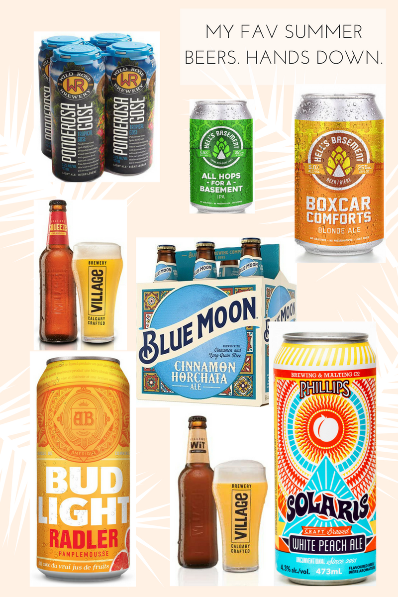 Drea Marie shares her favourite summer beers! Light, fruit, flavourful beers are all over the blog today. Check it out!!!