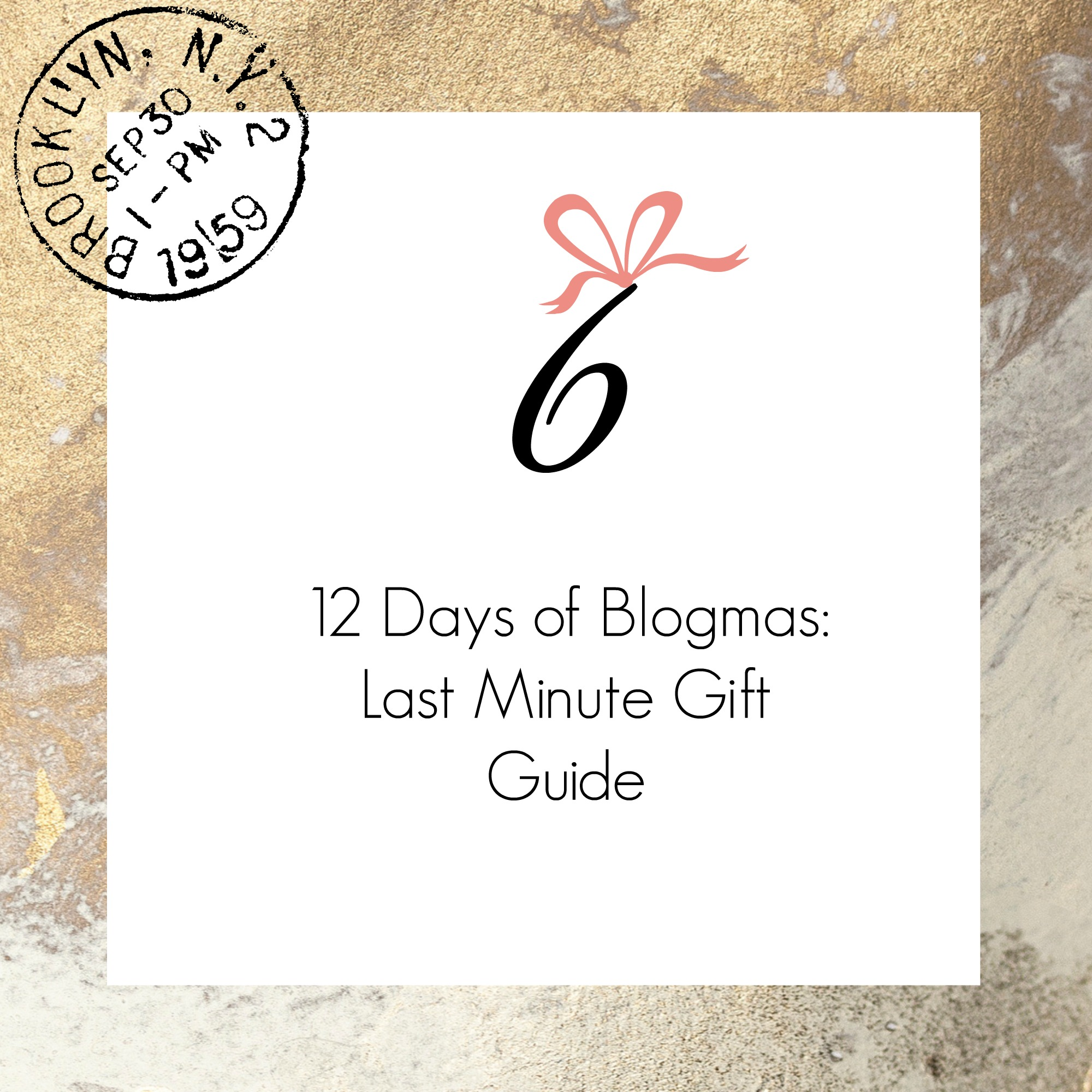 Calgary based blog by Drea Marie shares her last minute gift guide & stocking stuffers. It's the LAST WEEKEND before Xmas so let's do this!